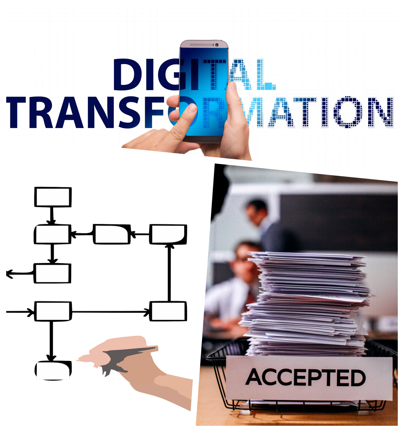 ZEST I/O Digital Transformation Road Map Remove Paperwork Digitise Improve Streamline