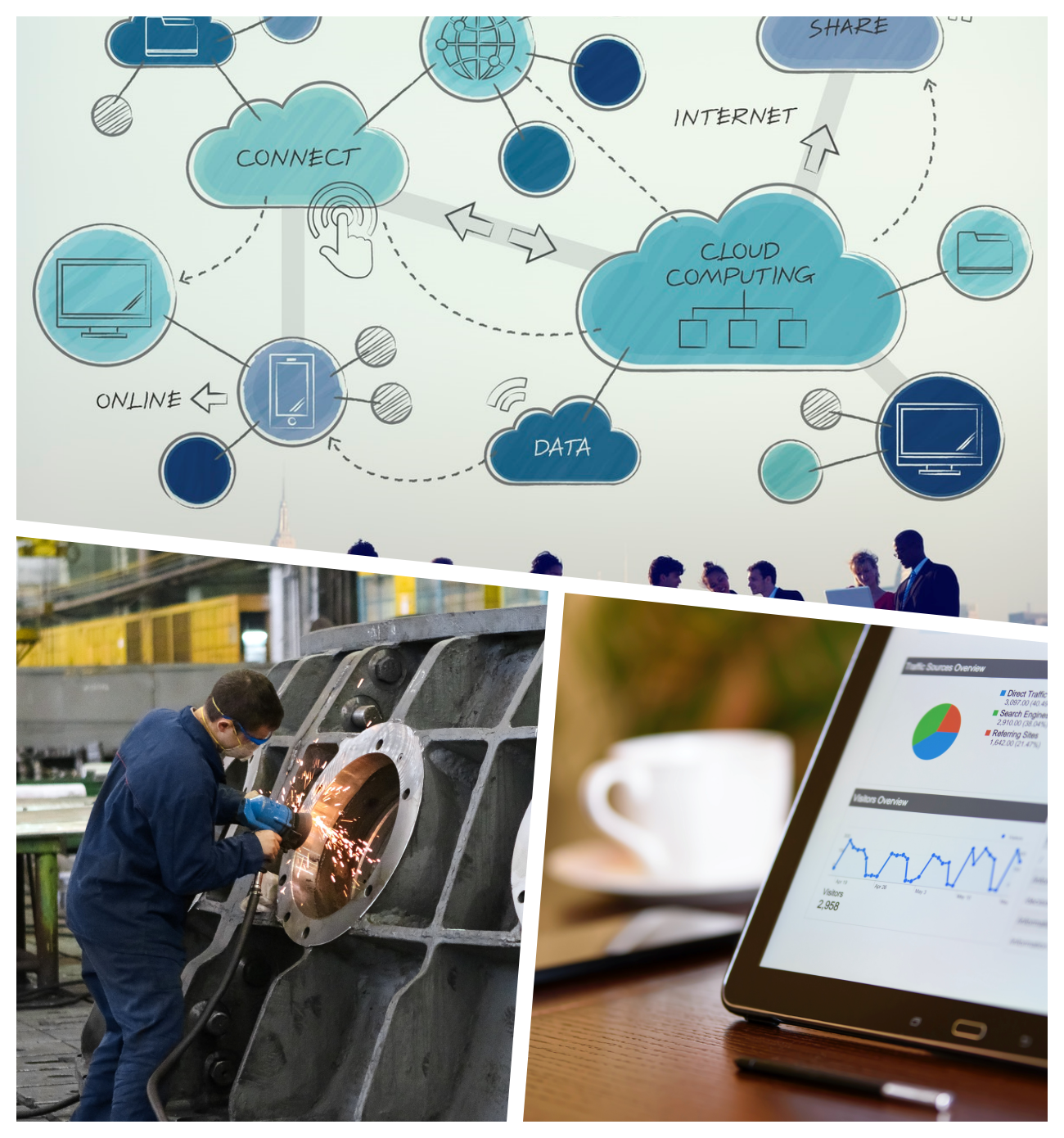 ZEST Cloud Software for Small Engineering Manufacturing Service Company