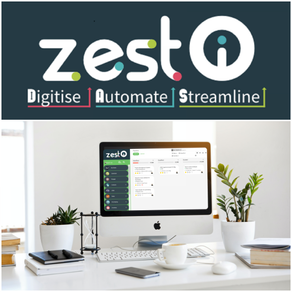ZEST I-O Digitise Automate Streamline Through Cloud Software
